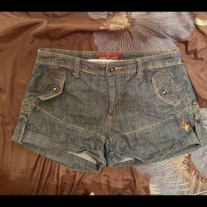 Baby Phat Jean Shorts